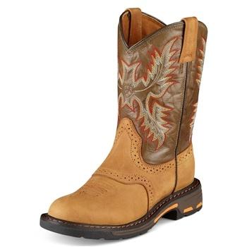 Ariat Workhog kids cowboy boots.