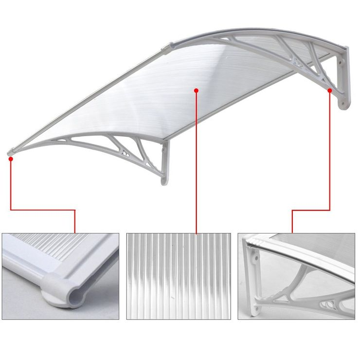 chinkyboo doorwindow canopy front back awning porch sun shade shelter outdoor patio rain cover - U Shape Canopy 2015