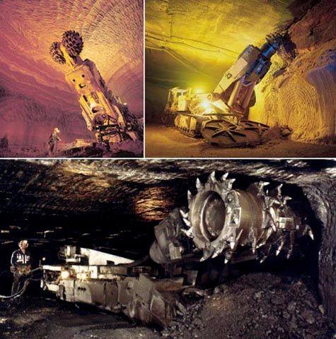 underground miner machine - Google Search