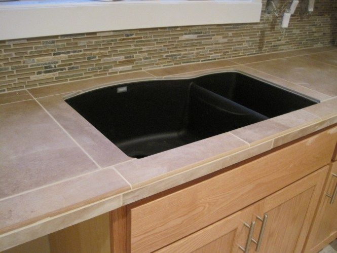 Image Result For Tile Countertop Undermount Sink Undermount Sink Sink Vanity
