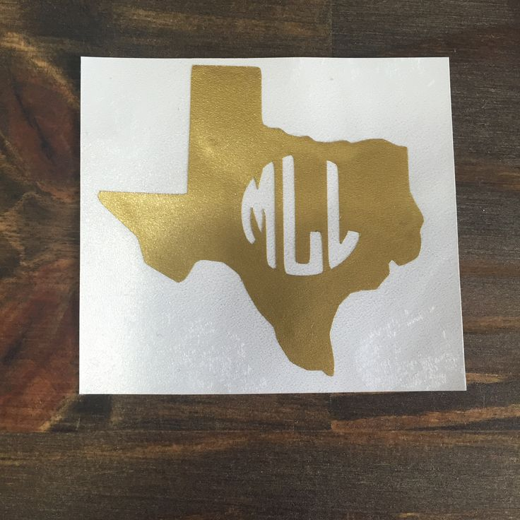 These custom decal stickers feature bright colors and a customizable circle monogram these are great for car decals binders computers cups and more