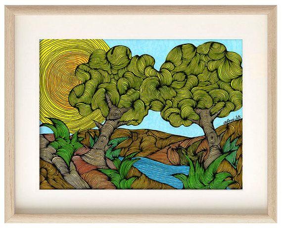 The Creek by Athena Kilimantzou