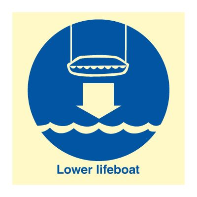 Lower lifeboat