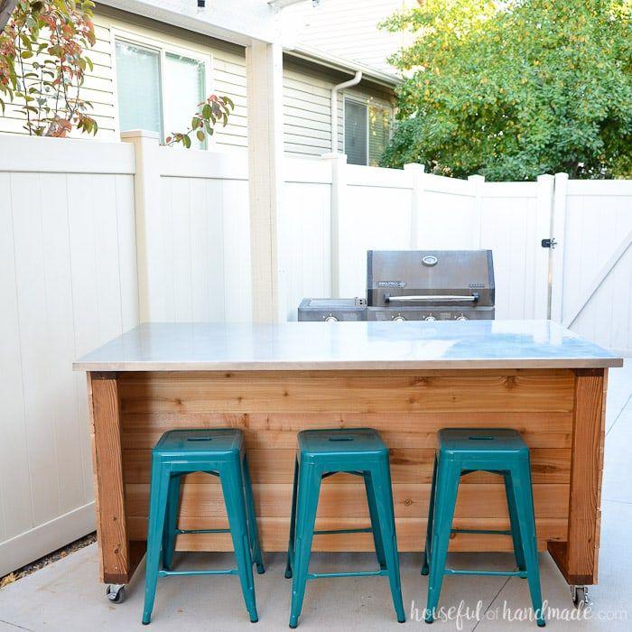 Outdoor Kitchen Island Build Plans Outdoor Kitchen Island Outdoor Kitchen Countertops Portable Kitchen Island