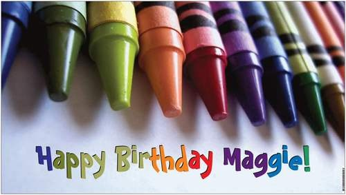 Custom Vinyl Crayola Crayons Colours Colors Birthday Party Banner Decorations - A beautiful showpiece for your child's birthday and a wonderful keepsake. Dimensions: 3' x 1.6' Printed on high quality, white 10oz. vinyl, which is flexible material with a matte finish and is fade-resistant, tear-resistant, and flame-retardant. Banners are professionally printed and are shipped rolled. Your banner will never be folded, so it will have no creases. $29.95
