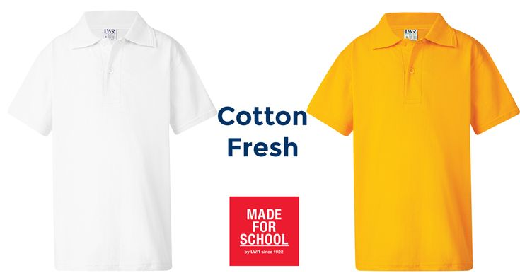 Our Brennan Cotton Polo is cool, soft and perfect for Aussie summers!