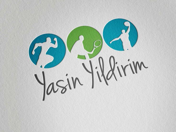 Création de logo pour coatch sportif, graphiste Marseille