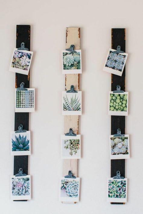 super 50 Fotowand Ideen, die sich leicht kopieren lassen