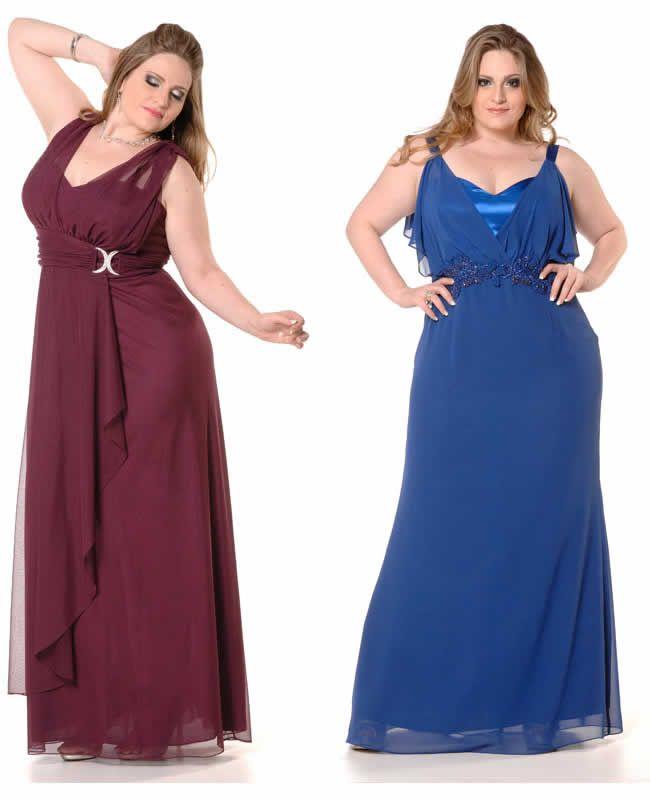 Veja lindos modelos de vestido de festa plus size, a moda festa para gordinhas cheia de estilo e glamour!