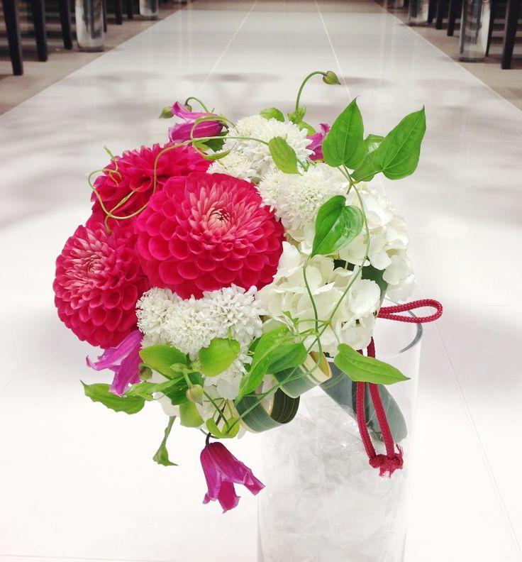 # Vress et Rose # Wedding # mix color #purple # Bouquet # natural #Vintage # Flower # Bridal # ブレスエットロゼ #ウエディング #ミックスカラー#和装ブーケ # クラッチブーケ #ビンテージ#ダリア# アジサイ#マム#花 # ブライダル#結婚式