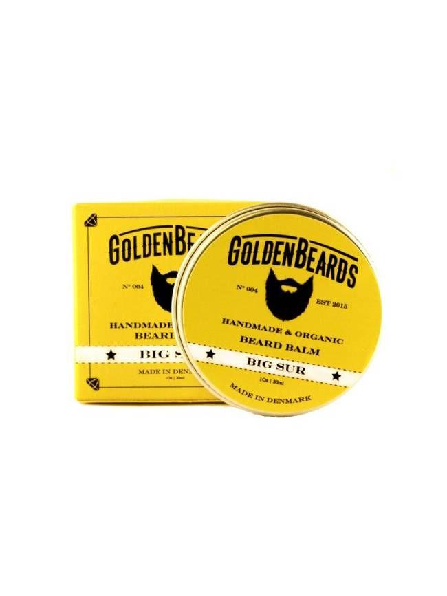 """Bálsamo para Barba orgánico """"Golden Beards Arctic"""", suaviza, hidrata y tonifica tu barba y piel con un veraniego aroma a Lima, Lavanda y Pachuli."""