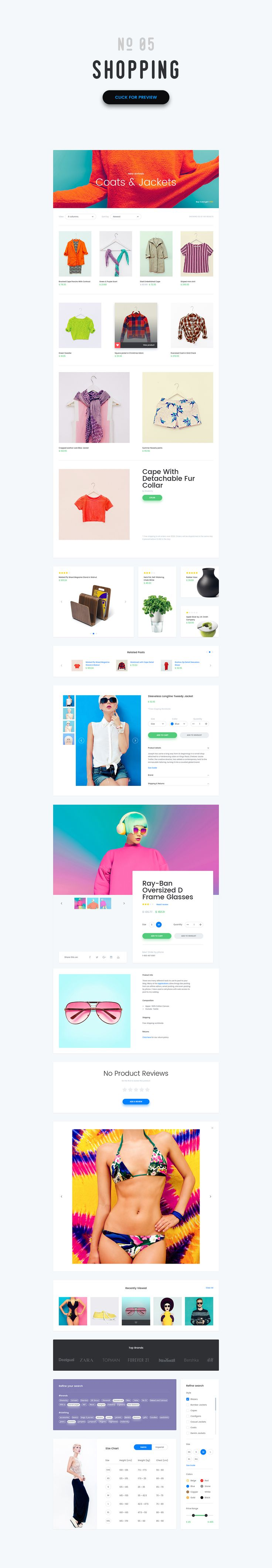 -20%- Vivid - Soft Material UI Kit by The UI Shop on Creative Market