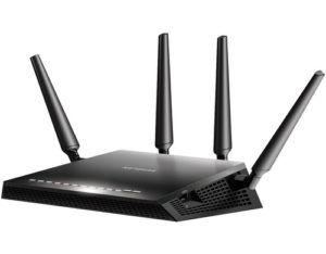 Netgear Router R7800, Anwendungsbereich: Home, RJ-45 Anschlüsse: 4 ×, RJ-45 Geschwindigkeit: 10/100/1000 Mbit/s, WAN Anschlüsse: 1 ×, WLAN Standard: 802.11ac, WLAN Frequenzband: 2.4 GHz, 5 GHz, WLAN Geschwindigkeit Max.: 2533 Mbit/s