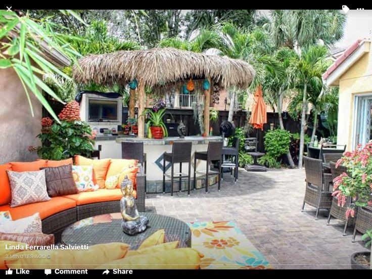58 best tropical backyard ideas images on Pinterest   Garden ideas ...