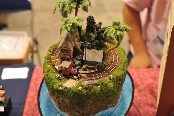 Charming diorama
