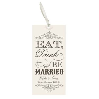 'Be Married' Wedding Invitation
