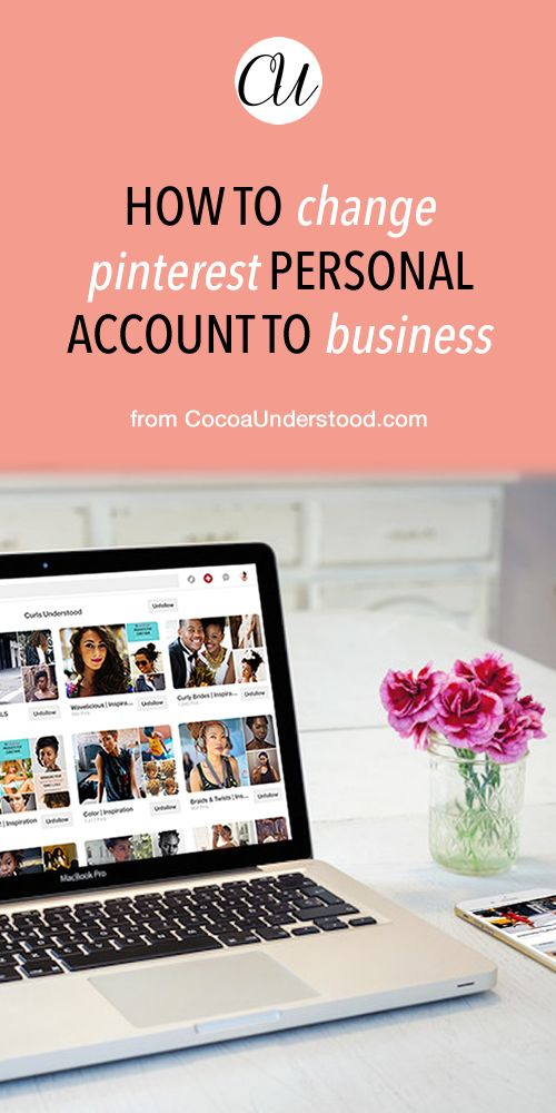 how to change your facebook account from personal to business