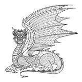 Dessin de chat Zentangle à colorier, effet de motif de chemise, logo, tatouage et …