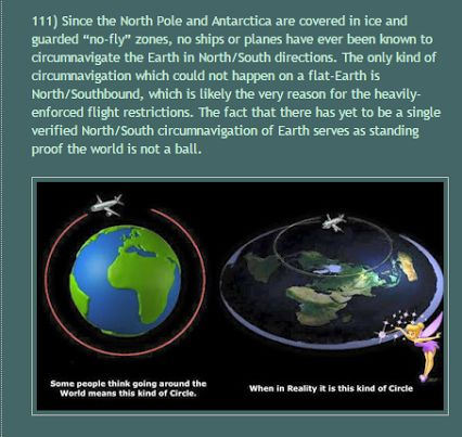 Image result for flat earth when in reality its this circle