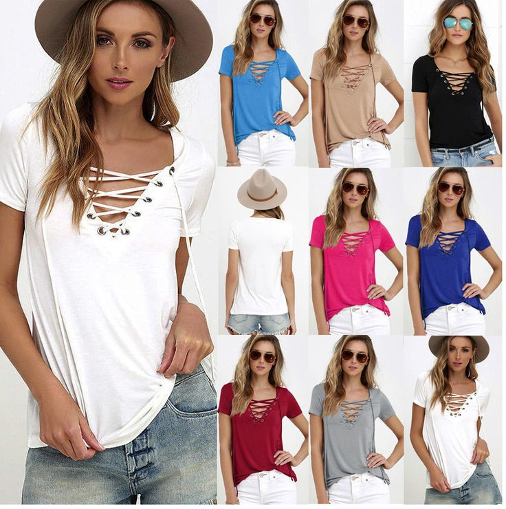 High quality Ebay Amazon Hot 2017 summer new Sheer Sexy Blouses Women Tops shirts Ladies V neck solid color T shirt Plus size | Buy Now High quality Ebay Amazon Hot 2017 summer new Sheer Sexy Blouses Women Tops shirts Ladies V neck solid color T shirt Plus size and get big discounts | List Manufacturers of  High quality Ebay Amazon Hot 2017 summer new Sheer Sexy Blouses Women Tops shirts Ladies V neck solid color T shirt Plus size | List Manufacturers of  High quality Ebay Amazon Hot 2017…