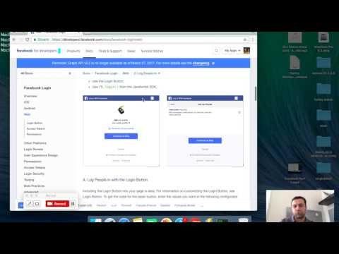 Facebook Javascript SDK Bölüm 2 - FB Login Butonu ile Login ve Logout - (More Info on: http://LIFEWAYSVILLAGE.COM/videos/facebook-javascript-sdk-bolum-2-fb-login-butonu-ile-login-ve-logout/)