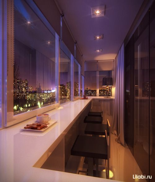 кухня, совмещенная с балконом - Поиск в Google