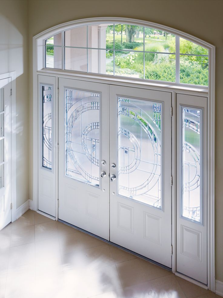 Add interest to your entry door by making it a double entry or by adding sidelites or a transom.  View more inspiration here: http://www.casabellawindows.ca/project-gallery/