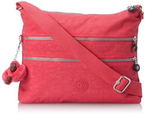 "Kipling Alvar Crossbody bag, Vibrant Pink - $40.58 FS at amazon.com <11"" high, 11"" wide>"