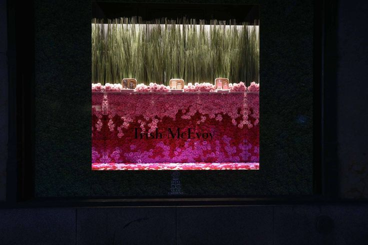 The Window Displays That Are Turning Fifth Avenue Into A Garden Party  - TownandCountryMag.com