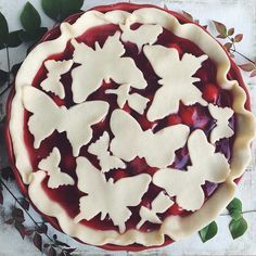 cherry pie from @thedaleyplate