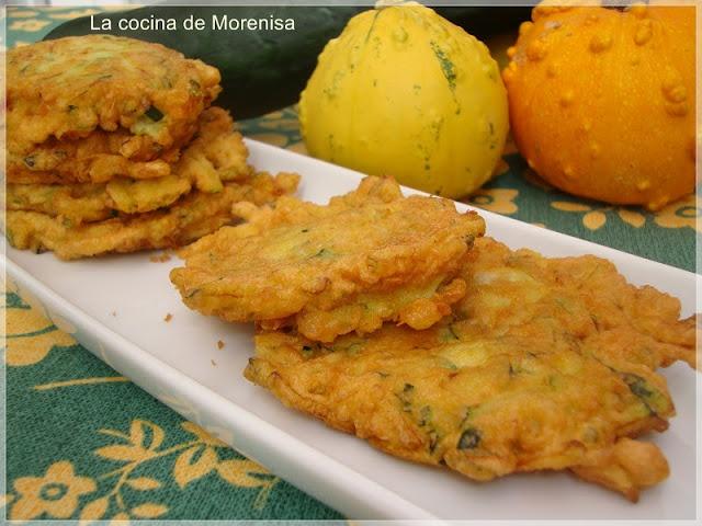 Tortillitas de Calabacín