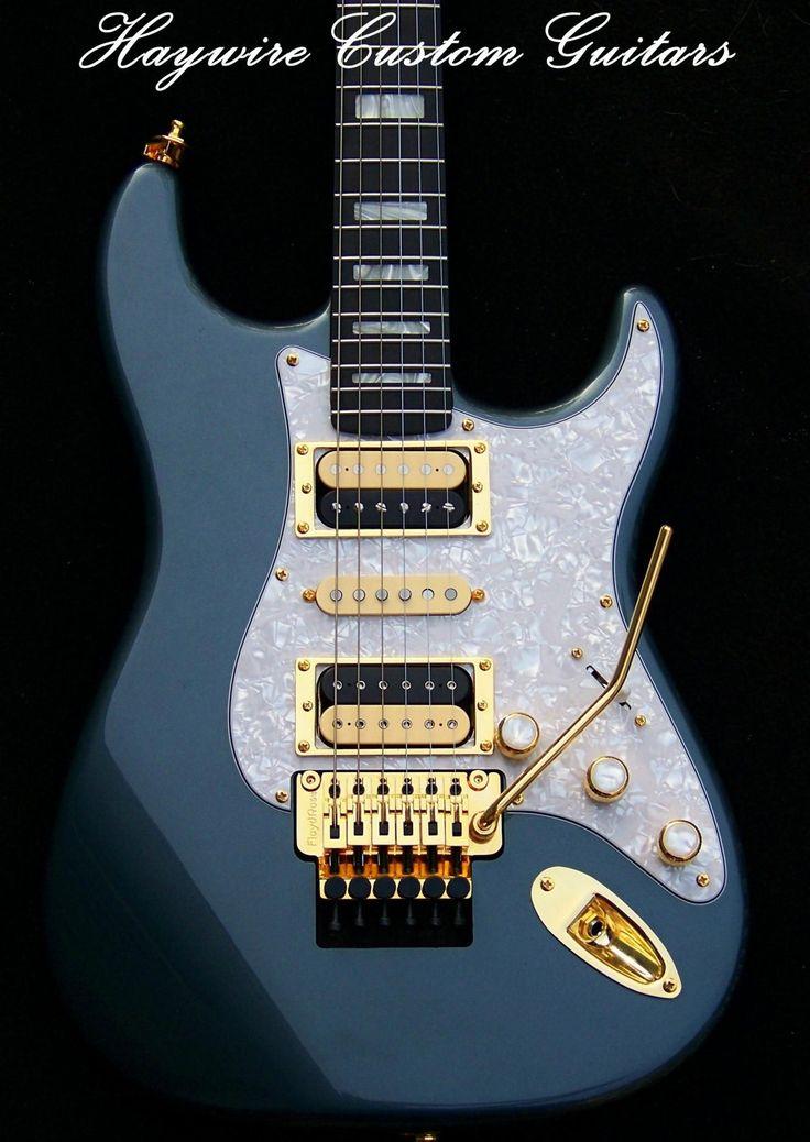 Haywire Custom Guitars Inc. #beautifulguitars