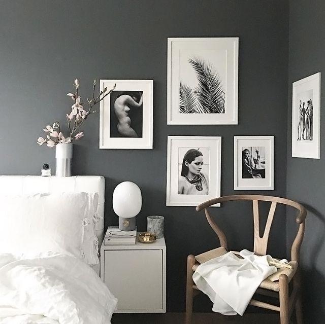 Best 25+ Charcoal walls ideas on Pinterest   Dark grey ...