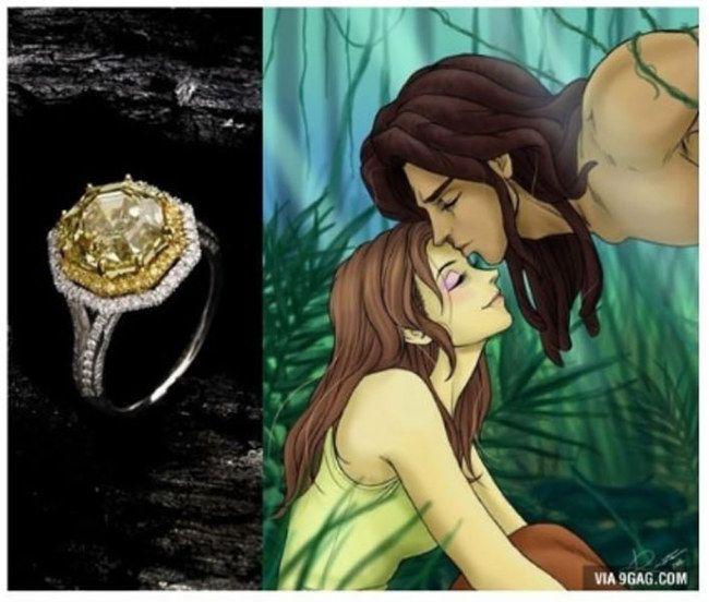 Bague Disney - Jane (Tarzan)