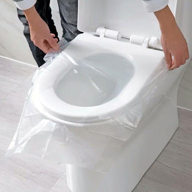 Practical Bathroom Tools 50 Pcs Universal Toilet Disposable