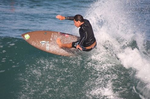 Flax surfboards. Better for the rider and the environment