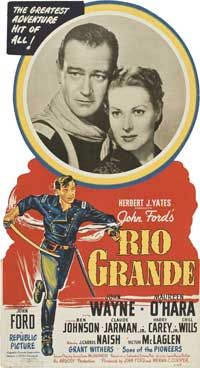 cavalry movie posters | Rio Grande Movie Posters From Movie Poster Shop