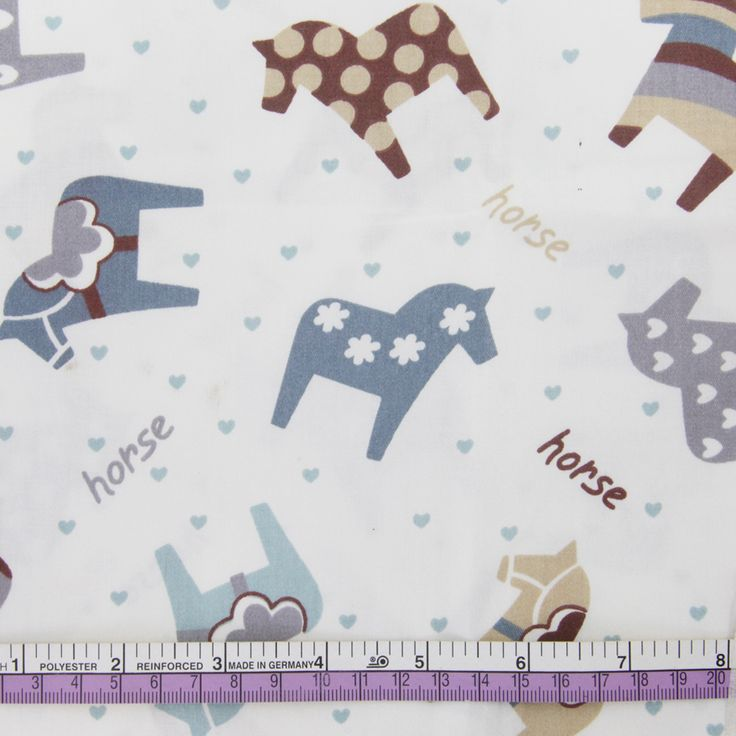 Aliexpress.com : Buy 50*147cm horse cotton fabric for Tissue Kids Bedding textile for Sewing Tilda Doll, DIY handmade materials,48210 from Reliable cotton fabric suppliers on harry1 Store