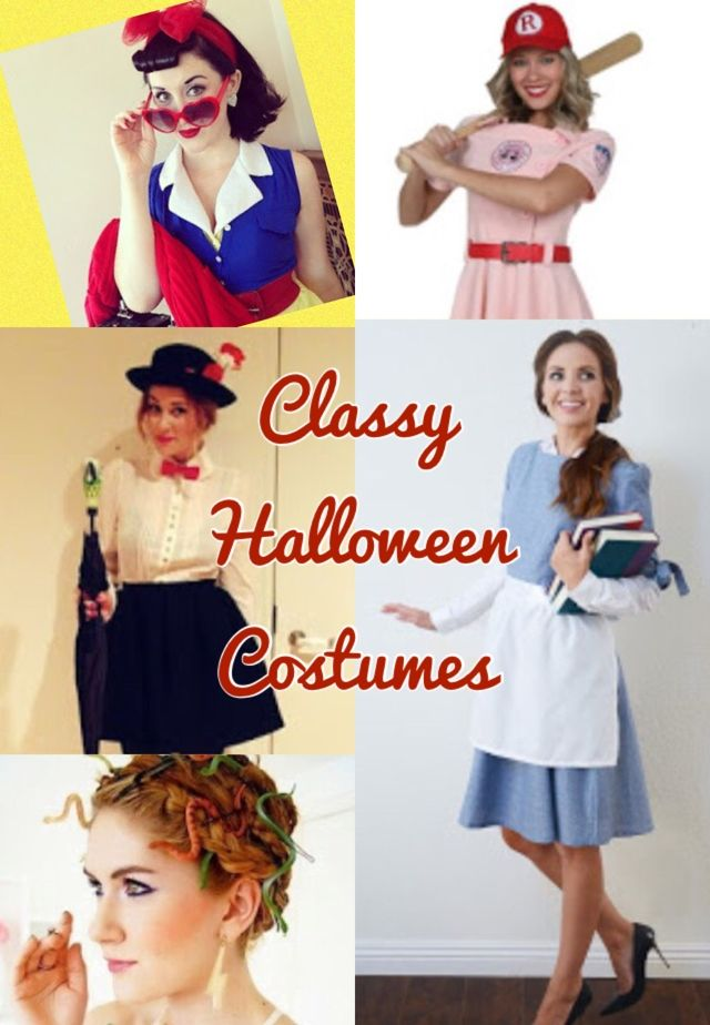 Classy Halloween Costumes      If you are a mid 20's woman like me you may be regretting some of your past Halloween wardrobe choices.   L...