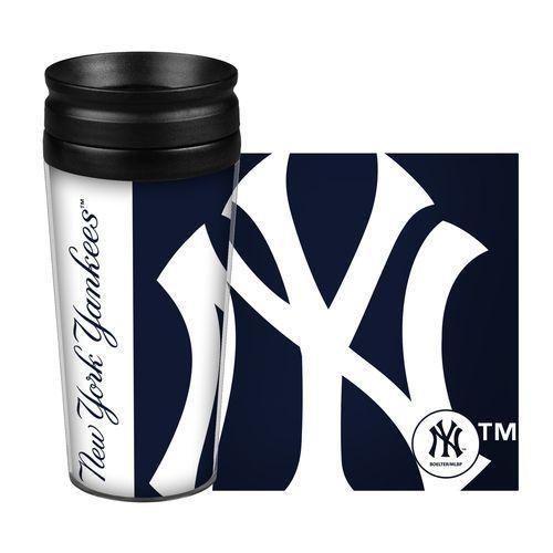 New York Yankees Travel Mug - 14 oz Full Wrap - Hype Style