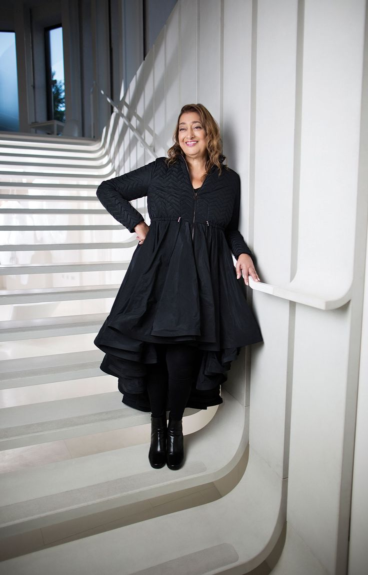 Architect Zaha Hadid, 1950-2016, R.I.P.