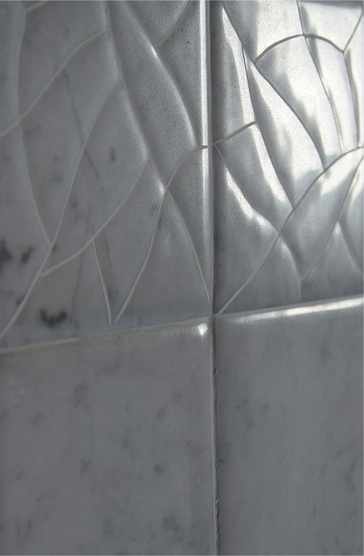 """The latest Bolero Collection is a very new and different  aesthetic surface: every single tile appear to be composed by many different single waterjet shapes with Barbieri Texture. Available from next January 2014. Available to be produced on minimum size of 4"""" x 4"""" x 3/8  through 48"""" x 96"""" x 1"""" 1/2 Design By Roberto Lanaro ."""