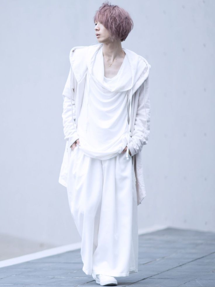 オールホワイト albino:ZIPアップスウェットモッズパーカー albino:ドレープポケット付きフェイクレイヤードビッグパーカー albino:ツイストネックワイドロングタンクトップ albino:タックデザイン2ボタンスカートパンツ albino select:サイドZIPエナメルハイカットスニーカー albino:アックユランリング SV925 AQA:しずくネックレス K18 albino se...