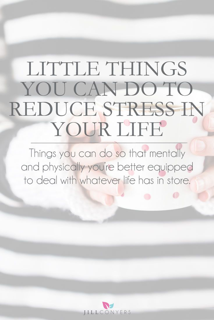 Life is full of challenges and we all get stressed from time to time. The moment you start doing little things to reduce stress you will feel the benefits almost instantly. Click through to read the full article. Pin it now and read it later. @jillconyers