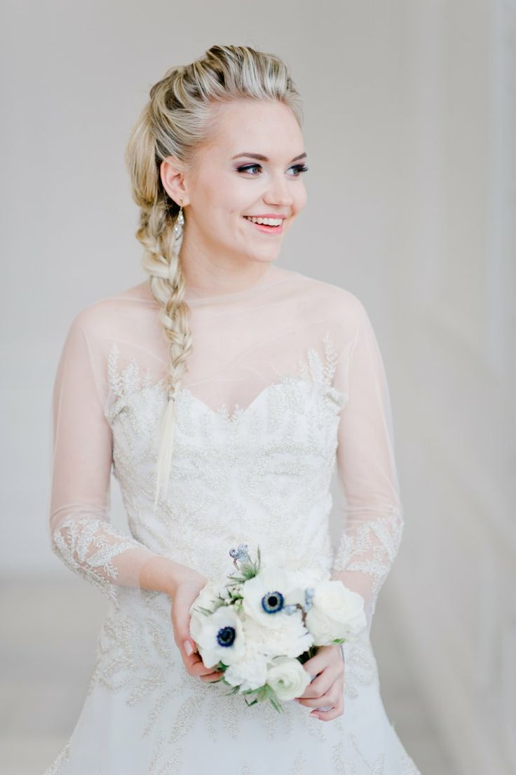 frozen inspiration disney themed wedding dresses Disney s Frozen inspired wedding shoot