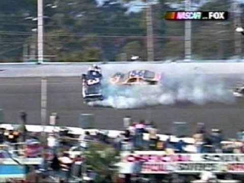 Dale Earnhardt Sr. Fatal Crash *Live With Replays* My toddler wore a Dale Earnhardt racing in suit the day of this crash. Bad memory, but I couldn't get rid of that suit. LWB