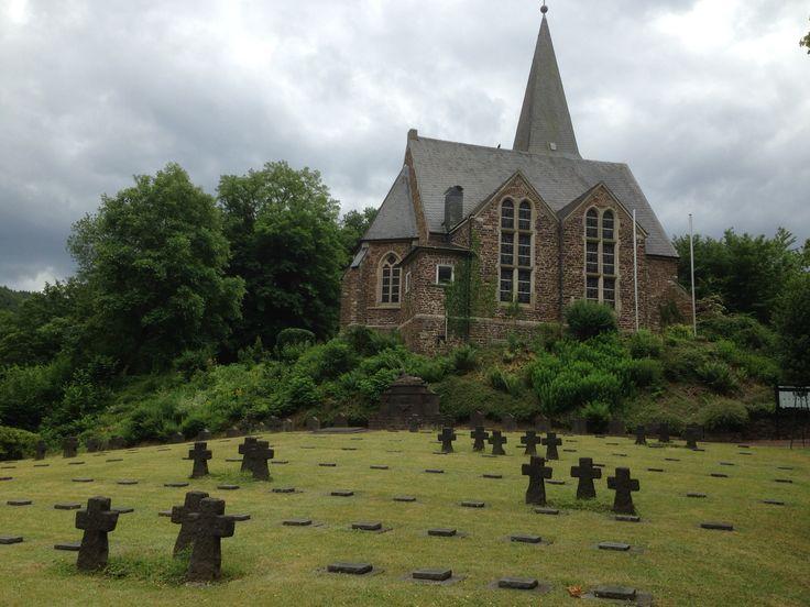 Oorlogsgraven, Bad Bertrich