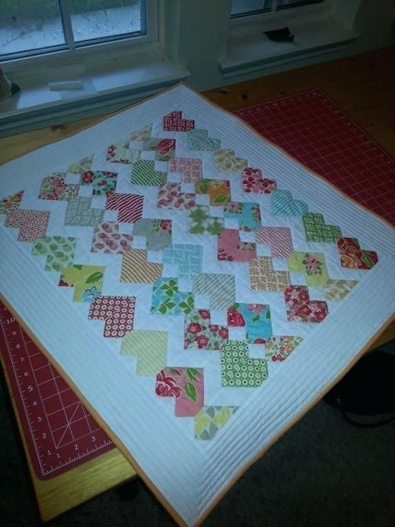 Christmas Quilt Patterns Using Charm Packs Quilt I Made From A