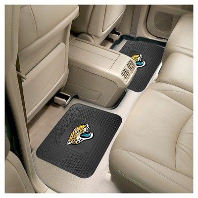 NFL Fan Mats 2 Utility Mats - Jacksonville Jaguars, Durable