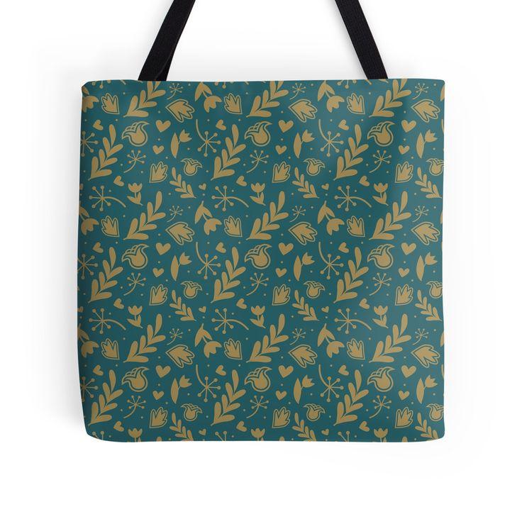 Seamless floral pattern by Traida